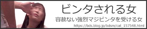 強烈なビンタ・マジビンタ・往復ビンタされる女のエロ画像 SM NaoTo WF