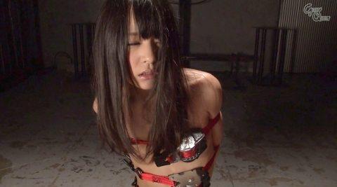 ドM顔 SM調教 ベルト拘束される女 あべみかこ AV女優画像 -SMJP abe04_1