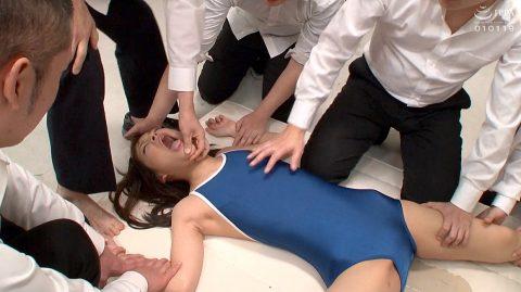 集団凌辱 惨めに押さえつけられて辱められて集団強姦される女 あべみかこ AV女優画像 -SMJP