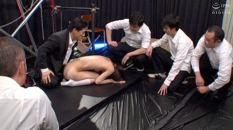 全裸土下座を強要されて全裸土下座する女 あべみかこAV女優画像 -SMJP