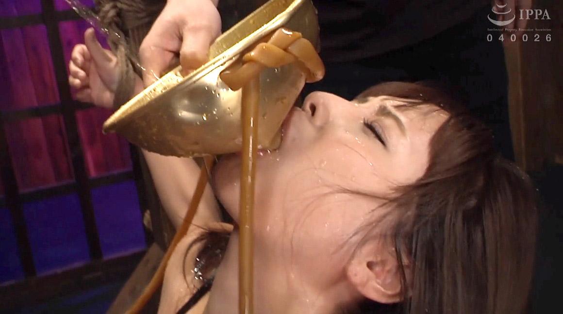 SM調教 尿を飲まされる女のSM調教AVエロ画像 花咲いあん -SMJP