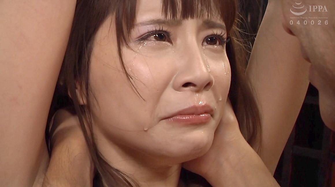 激しいSM調教に泣いて涙を流す女のエロ画像 花咲いあん -SMJP