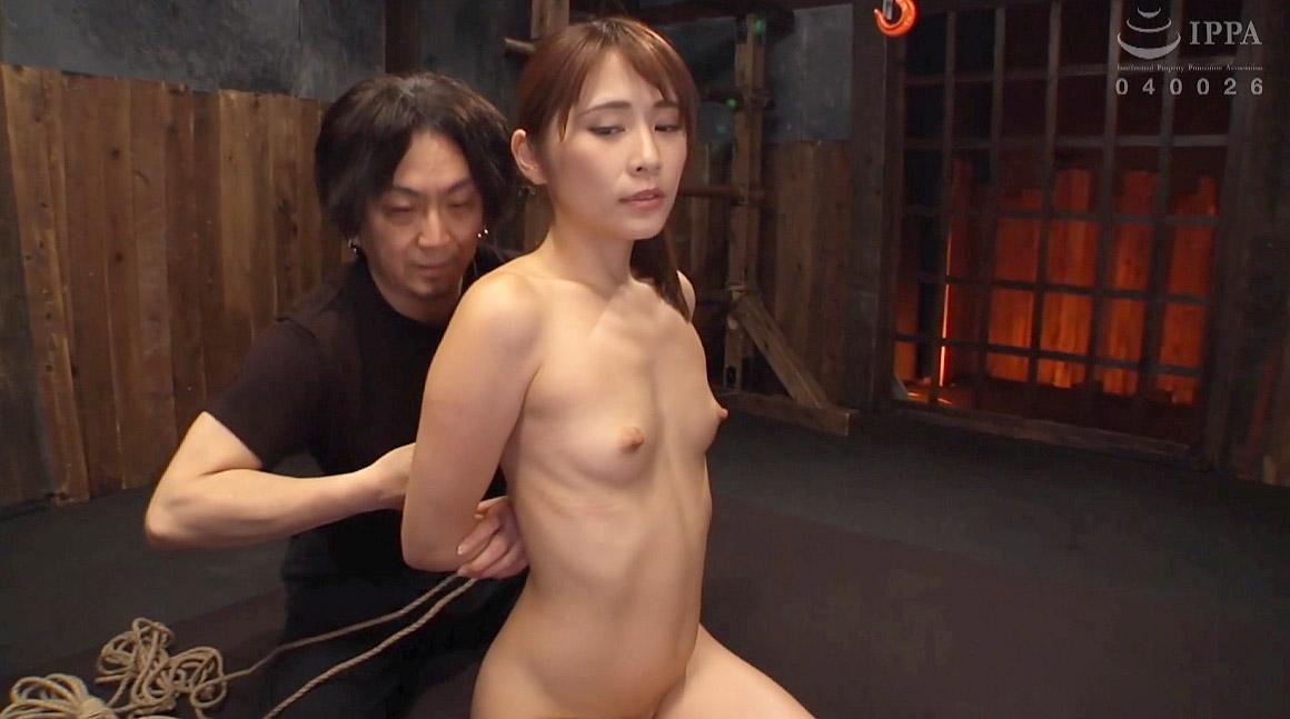 全裸正座でSM緊縛調教される女のエロ画像 花咲いあん -SMJP