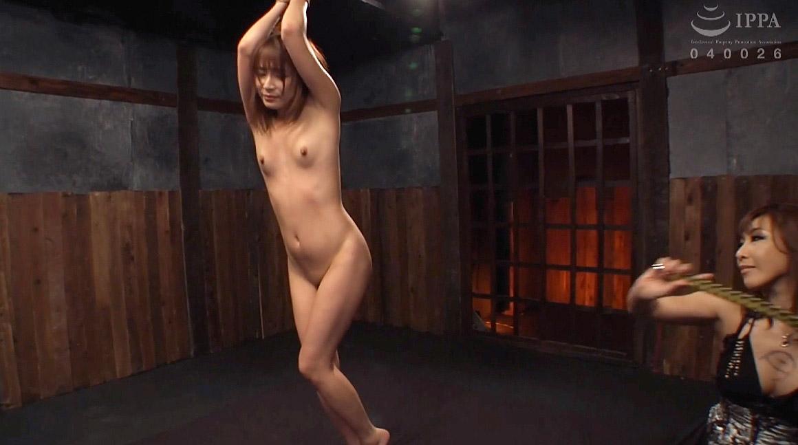 鬼畜SM画像、激痛の一本鞭調教される女のSM拷問画像 花咲いあん -SMJP