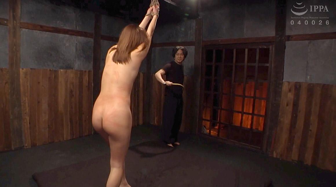 一本鞭調教に悲鳴を上げる女のSM画像 花咲いあん -SMJP
