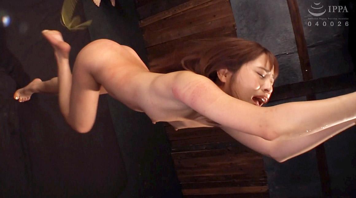 一本鞭で叩かれる女の一本鞭SM調教画像 花咲いあん -SMJP