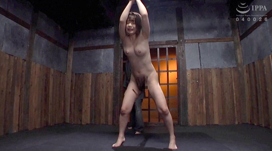 鬼畜SM調教 陰部を鞭打たれて調教をされる女の画像 麻里梨夏-SMJP