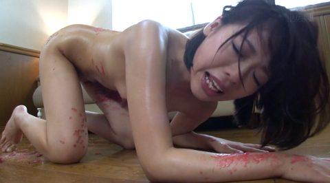 ハードなSM調教を受け全身から汗を噴き出させる女の画像 七海ゆあ -SMJP