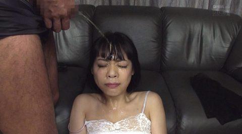SM調教 惨め 顔に尿を掛けられる女のAVエロ画像 七海ゆあ -SMJP