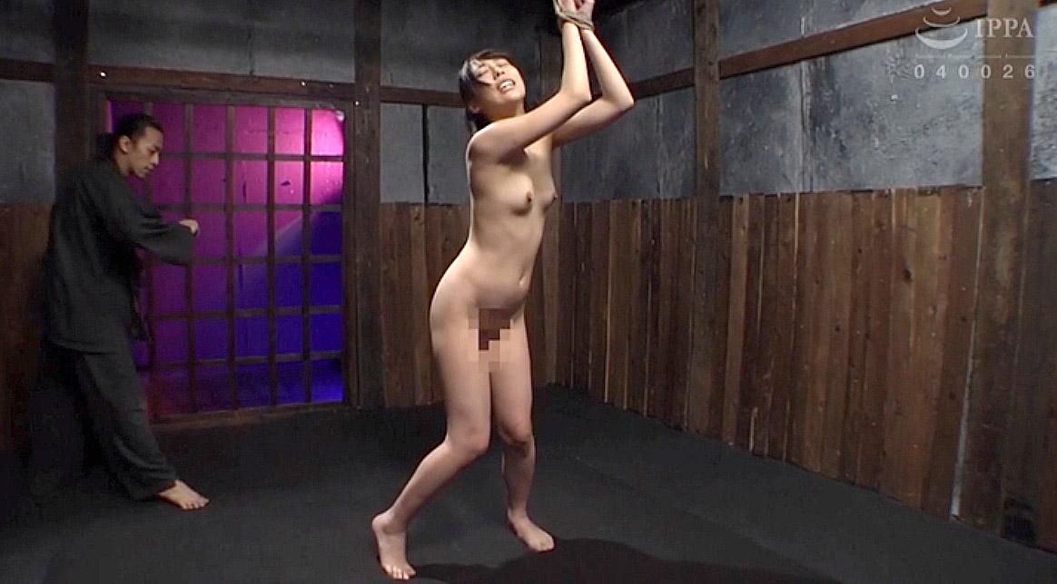 鞭打ち調教される女のSM調教AV画像 七海ゆあ -SMJP