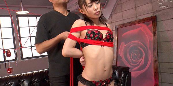 肋骨が浮き出るスレンダー女の緊縛画像 乙都さきの-SMJP