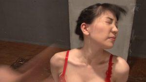 顔が変形するマジビンタを受ける女 SM調教画像 鈴木心春 -SMJP