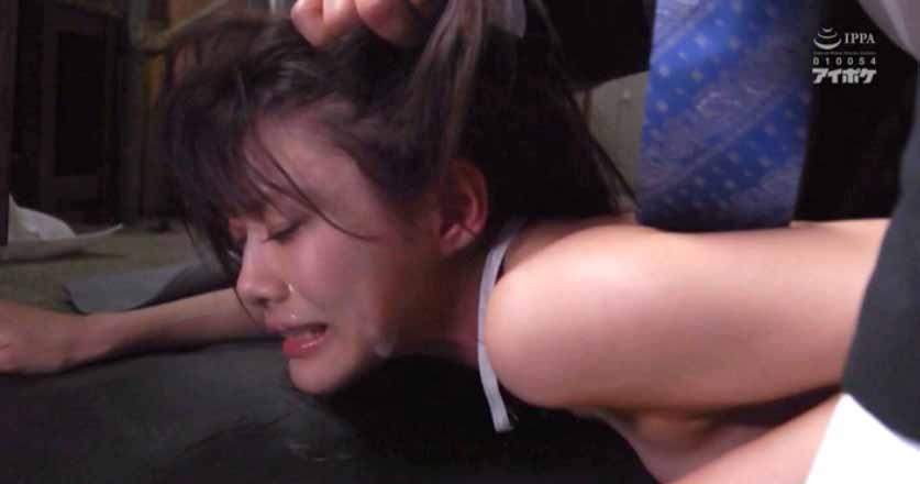 鷲掴みにされて髪の毛を乱暴に引っ張られて犯される女のエロ画像 相沢みなみ-SMJP