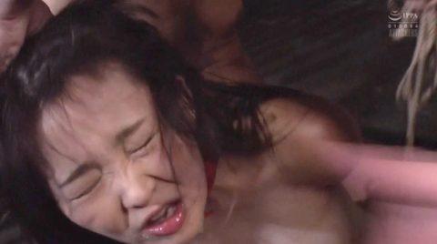 SM調教鬼畜ビンタに吹っ飛ぶ女のエロ画像 妃月るい-SMJP