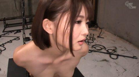 全裸で拘束されて強烈ガチビンタされる女のエロ画像 妃月るい-SMJP hidukirui109