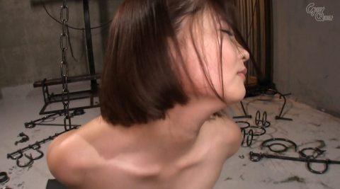全裸で拘束されて強烈ガチビンタされる女のエロ画像 妃月るい-SMJP hidukirui112_2