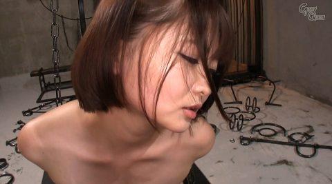 全裸で拘束されて強烈ガチビンタされる女のエロ画像 妃月るい-SMJP hidukirui114