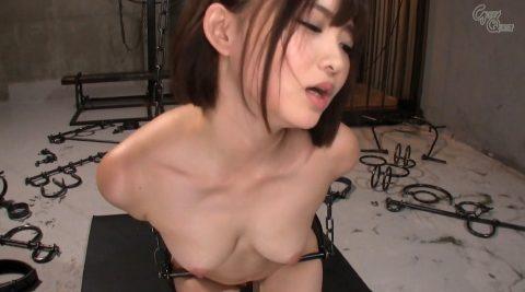 SMで鉄拘束されて屈辱に耐える女の画像 妃月るい-SMJP