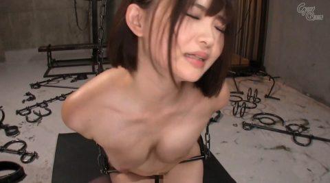 乳ビンタ胸を変形するほどスパンキングされる女の画像 妃月るい-SMJP