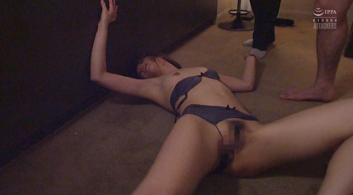 惨めな女のエロ画像、残酷に暴漢に襲われて犯される女 川上奈々美/SMJP