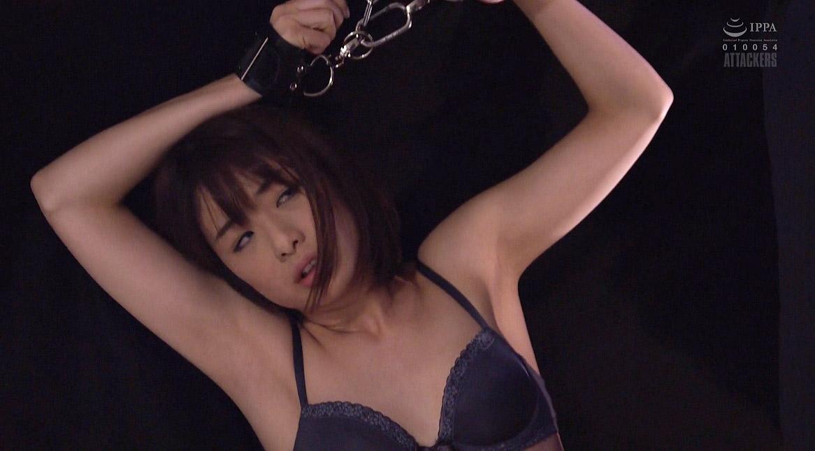 囚われて両手を拘束されて繋がれる女 川上奈々美/SMJP