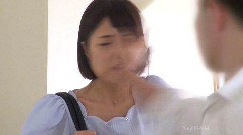ビンタされる女のエロ画像、マジビンタされる女 川上奈々美/SMJP