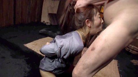 残酷フェラ画像、残酷な喉奥イラマチオでえずき苦しむ女 美咲結衣/SMJP