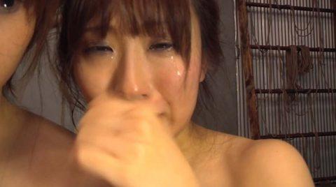 ビンタエロ画像激しいビンタに号泣するM女の画像 美咲結衣/SMJP