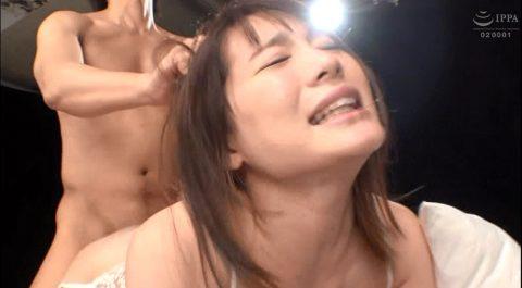 髪の毛を引っ張られて犯される女の画像、髪の毛鷲掴みにされて引っ張られながら犯される女の画像 鈴村あいり