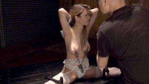 強烈乳首責めされてガチビンタされる女の画像 ティアーSMJP