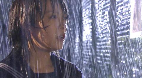 映画ドラマのエロシーン TVドラマライフ 雨に濡れる北乃きい