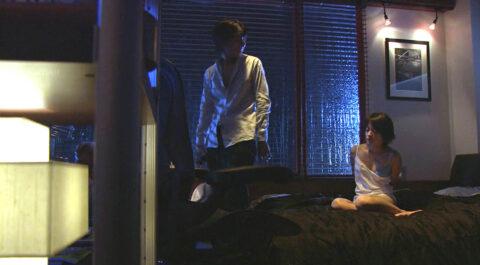 TVドラマ ライフ エロシーン、後ろ手に縛られて監禁される 下着姿の 北乃きい