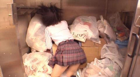 有名人のエロシーン、ゴミ溜めに蹴り飛ばされる 芸能人 北乃きい