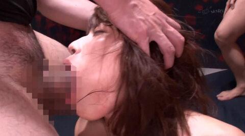 強制フェラ画像、有無を言わせず強制イラマチオさせられる女の画像 市川まさみ/SMJP=なおとSM=
