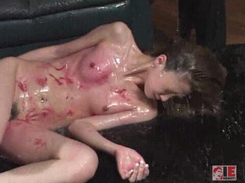 水責め調教される女の画像、集団レズリンチで水責めされて心折れる女のエロ画像 君嶋もえ/SMJP=なおとSM=