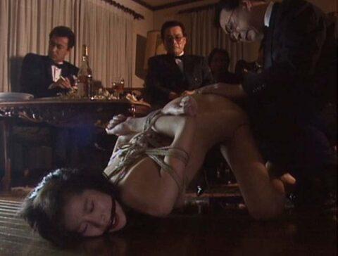 公開SM調教パーティー画像、全裸で縛られて尻を突き上げ弄ばれる哀れな女の画像 芦屋瞳/SMJP=なおとSM=